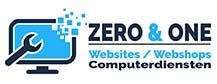 Zero & and One Zottegem Website Webshops Computerdiensten ICT oplossingen computerhulp Zottegem